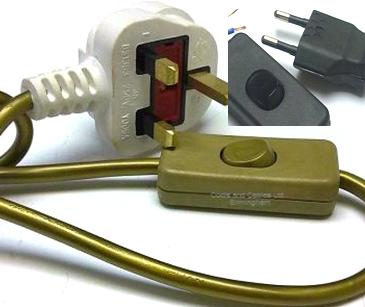 plugs inline switch inline cord sets prewired plug leads rh cordsncables co uk wiring in line switch to fixture wiring an inline dimmer switch uk