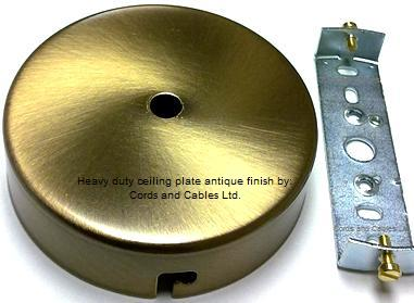 Brass ceiling hook plates ceiling hooks for chandeliers section 6l1 ceiling wall plates aloadofball Gallery