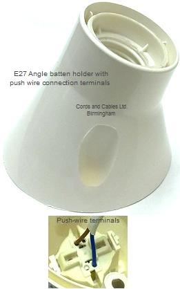 Awe Inspiring E27 Plastic Batten Holders Es Bakelite Angle Batten Holder Wiring 101 Tzicihahutechinfo
