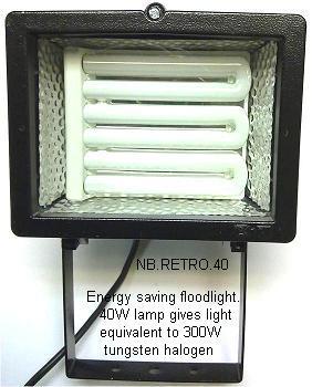 Floodlights energy saving lamps the energy saver floodlight aloadofball Gallery
